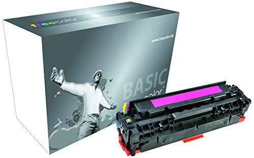 Preisvergleich Produktbild Freecolor Basic Toner für LaserJet 2025 Premium, 2800 Seiten, passend zu HP CC533A, magenta