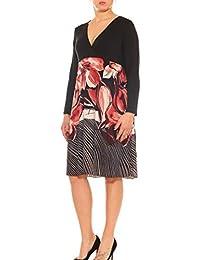 Vestito a Impero Donna Jersey Fantasia Floreale Taglia Unica Morbida 80b0fe35884