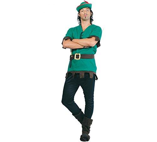 Costume vestito principe dei ladri Robin hood uomo Tg.Unica 80131