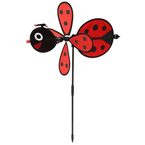 Tandou Bumble Bee / Marienkäfer Windmühle Whirligig Wind Spinner Hausgarten Garten Dekor