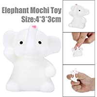 Lovely Elephant Squishy Toy, Indexp Elastic Anti Stress Relief Cream Scented Slow Rising Squeeze Fun Doll Gift for ADHD