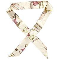 Minzhi - Juego de 3 pañuelos de Seda para Mujer, ...