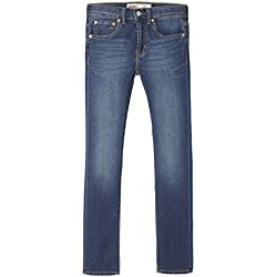 Levi's Kids Boy's Trousers NM22487 Jeans, Blue (Indigo 46), 12 Years (Size: 12A)