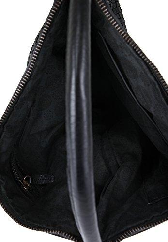 Rehard , Sac pour femme à porter à l'épaule Noir