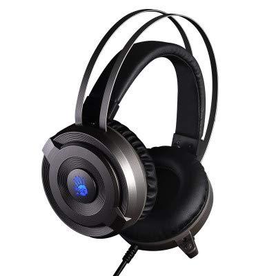 LBJN Spiel E-Sport-Kopfhörer Kopfbedeckungen Glühende, geräuschreduzierende Mikrofone Essen Chicken Jedi Survival-Spiel Kabelgebundene Kopfhörer Computer-Headsets -