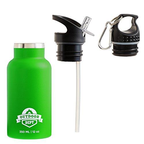 Botella Agua Niños Acero Inoxidable 350 ML Sin BPA - Botella Acero...