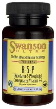 Swanson Ultra R-5-P Riboflavin-5-Phosphate (50mg, 60 Vegetarian Capsules) by Swanson Health Products