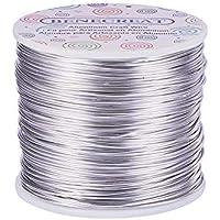 BENECREAT 12 17 18 Calibre Alambre de Aluminio (Calibre 18, 492 pies) Joyeria