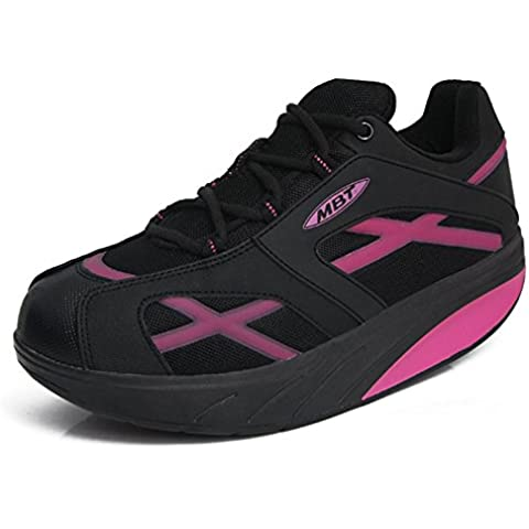 Donna M. Walk Breathable Walking Shoes Strength Shape Ups Trail