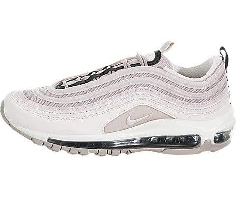 Nike Damen W AIR MAX 97 Leichtathletikschuhe, Mehrfarbig Pale Pink/Violet Ash/Black 000, 39 EU - Damen Pink Schuhe