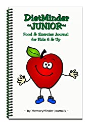 DietMinder Junior Food & Exercise Journal for Kids 6 & Up