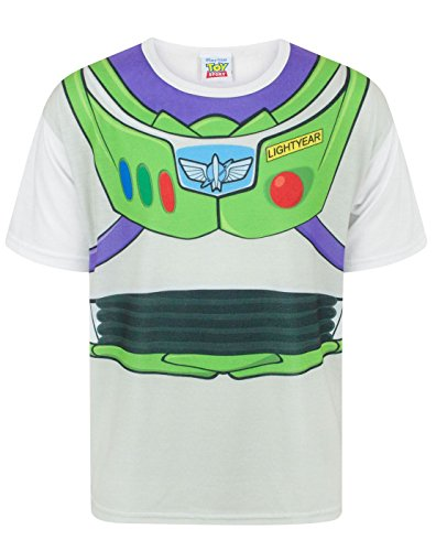 z Lightyear Costume Boy's T-Shirt (9-10 Years) (Jessie Und Buzz Kostümen)