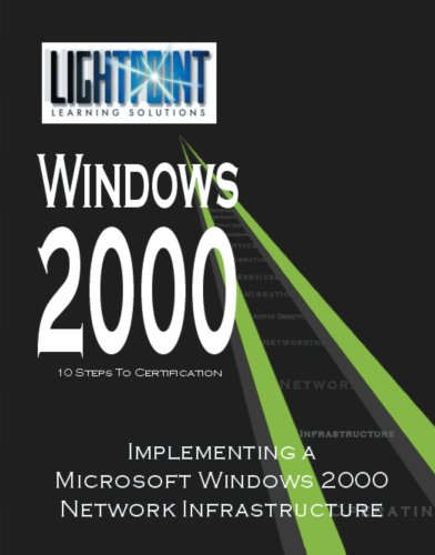 Implementing a Microsoft Windows 2000 Network Infrastructure (Lightpoint Learning Solutions Windows 2000)