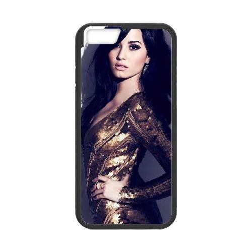 Demi Lovato coque iPhone 6 Plus 5.5 Inch Housse téléphone Noir de couverture de cas coque EBDXJKNBO10622