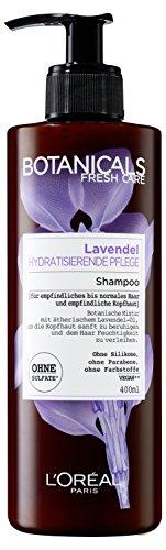 L'Oréal Paris Botanicals Shampoo Lavendel Hydratisierende Pflege, 1er Pack (1 x 400 ml)