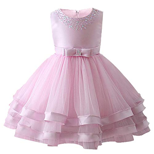 Disney Princess Belle Wedding Dress - EARIAL& Baby Girls Party Dress 2018