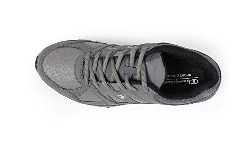 Champion Delta Pu Chaussures de course, Homme gris foncé