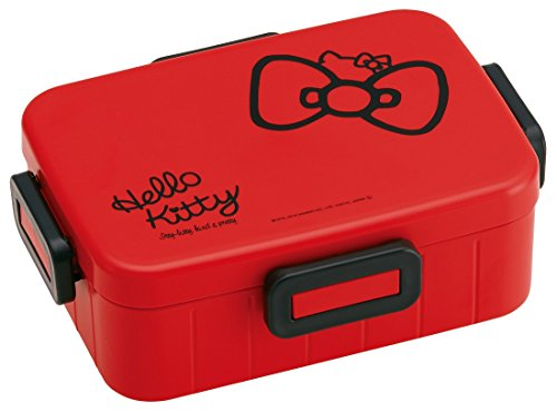 La patineuse de Sanrio Hello Kitty 4 verrouillage de la Boîte à Bento,déjeuner de 650 ml Ruban YZFL7 du Japon