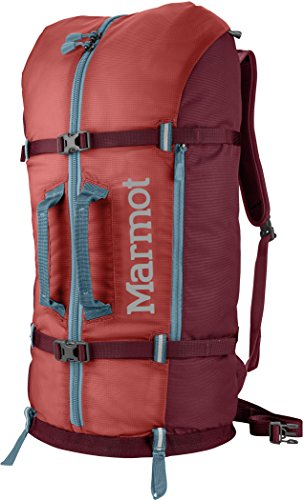 Marmot Rock Gear Hauler arrampicata zaino, unisex, Rock Gear Hauler, Retro Red/Port, Taglia unica