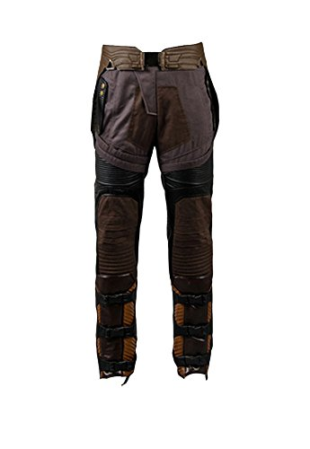 Guardians of the Galaxy Peter Jason Quill Starlord Uniform Cosplay Kostüm Pants Herren L (Of The Galaxy Kostüm Starlord Guardians)