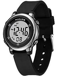 L.HPT Reloj Digital para niños - Reloj Deportivo para Hombres, Mujeres, Relojes