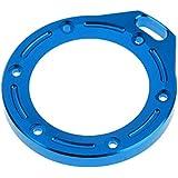 Generic Shuram CNC Alloy Lens Ring Mount For GoPro Hero 2 Sports Camera Housing Case Blue