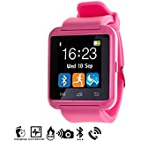 DAM - Smartwatch Multifunción Bluetooth Pink