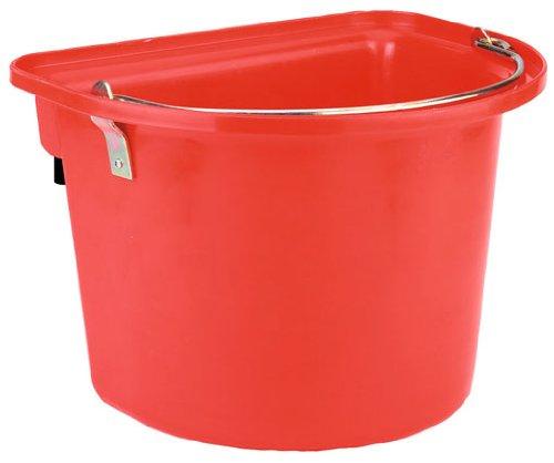 Kerbl Cheval Seau Mangeoire 12 L Rouge