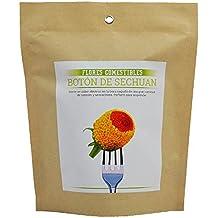 Kit flores comestibles Botón de sechuan Garden Pocket
