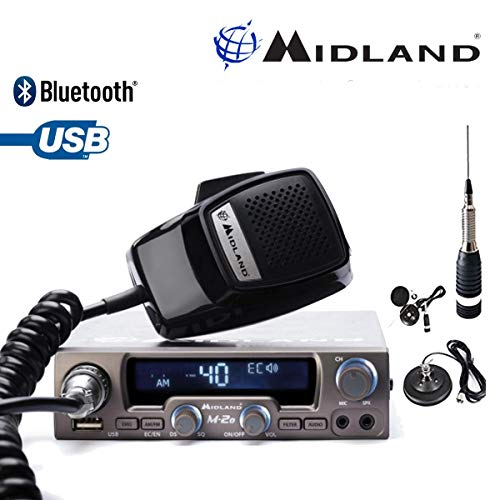0ch Anl Nbs USB Mobile LCD Funk Bluetooth mit Comtechlogic Cm-3000ant CB Antene ()