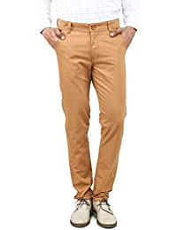 100% Cotton Slim Fit Non Stretchable Mens Rocky By Uber Urban