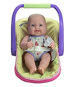 """JC TOYS- Babies Lots TO Love Baby IN Adjustable Carrier-Featuring 14"""" All Vinyl Doll-Perfect for Children 2, quot (16132)"""