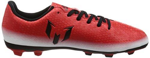 adidas Messi 16.4 Fxg J, Chaussures de Football Entrainement garçon Rouge (Rojo/negbas/ftwbla)