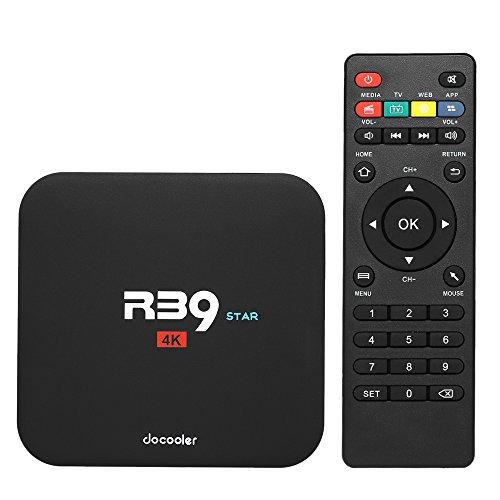 Docoker R39 Star Smart Android TV Box Android 7.1 RK3229 Quad Core UHD 4K VP9 H.265 2 GB / 16 GB DLNA WiFi LAN HD Media Player