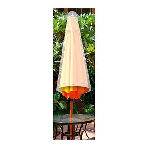 Guilty Gadgets Große Wasserdichte Wäscheleine Abdeckung für Sonnenschirm, Regenschirm, für den Außenbereich, Garten, Terrasse, 120 cm