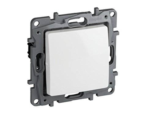 Legrand, 396504 Niloé - Interruptor conmutador de cruce para empotrar, interruptor para...