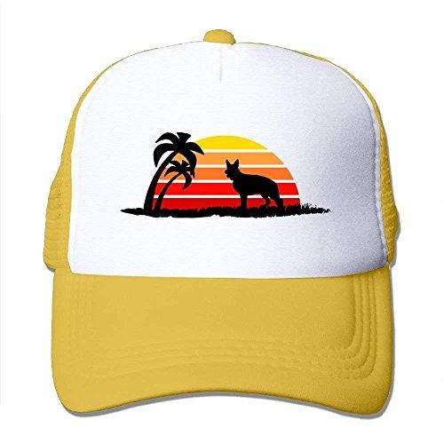 German Shepherd On Sunset Beach Classic Baseball Hats - Gap Kids Classic Shorts