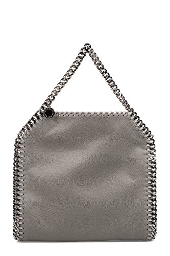 Stella-Mccartney-Womens-371223W91321220-Grey-Polyester-Handbag