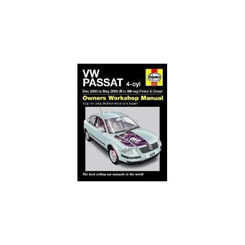 haynes-manual-volkswagen-passat-petrol-and-diesel-dec-2000-to-may-2005