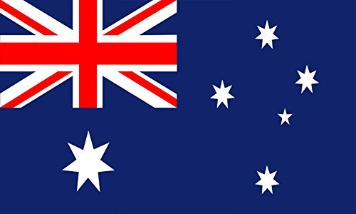 Australische Flagge, Polyester, 5 x 0.91 meters)