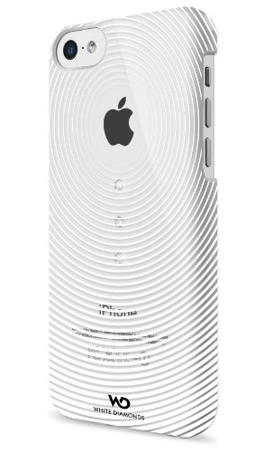 WHITE DIAMONDS Gravity Handy Case mit Swarovski Elements für Apple iPhone 5C transparent (Gravity-diamond)