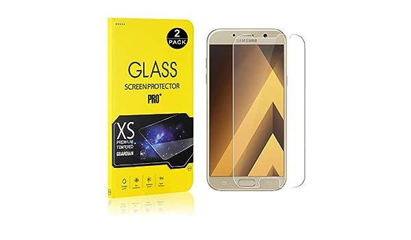 Film Protection /Écran Vitre HD pour Samsung Galaxy A3 2017 Bear Village/® Verre Tremp/é Galaxy A3 2017 Duret/é 9H Installation Facile 3D-Touch 1 Pi/èces