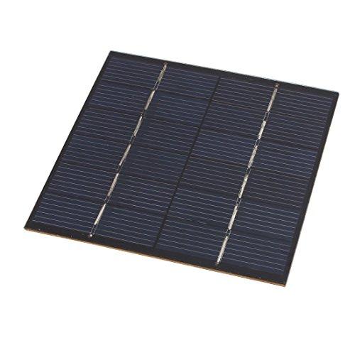 Encapsulados de alta eficiencia, Panel Solar proporciona suficiente energía para DIYEnergía para pequeños motores u otras cargas; dispositivos perfectos para el proyecto de CienciasPortátil, tamaño compacto y elegante con una sólida carcasa atractiva...
