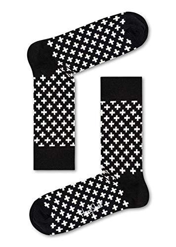 Preisvergleich Produktbild Happy Socks Herren Socken Plus, 6er Pack, (Schwarz 9000), One Size (Herstellergröße: 41-46)