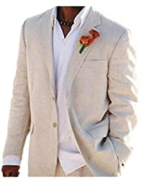 Veste tailleur homme beige