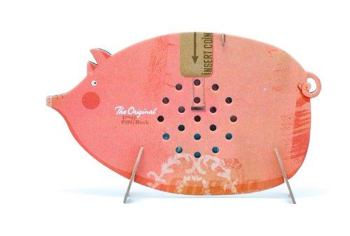 Lustiges Piggy Bank Sparschwein von Londji aus Hartkarton