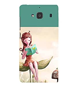 iFasho enjoy the life Back Case Cover for Redmi 2S