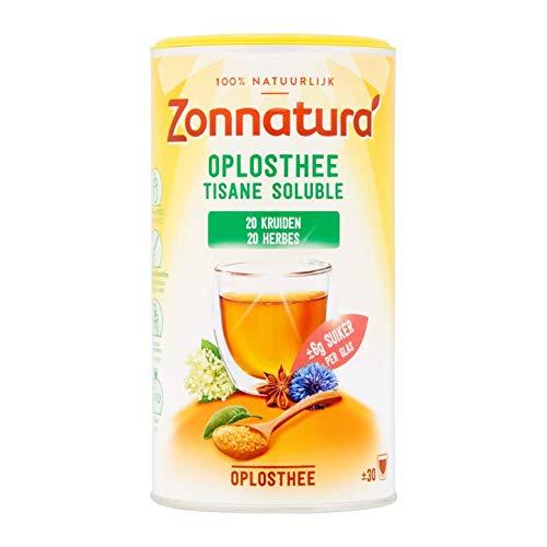 Instant Kräutertee | Zonnatura | Tee auflösen 20 Kräuter | Gesamtgewicht 200 Gramm -