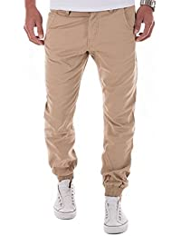 MERISH Hommes Chino Pantalon de Jogging Slim FIt Casual et moderne Modell 66