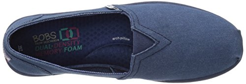 Flotteurs De Skechers Chill Luxe Chaussure Bleu Marine